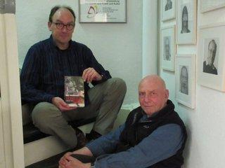Krimiautor Rolf Weißkamp + Claus Karst