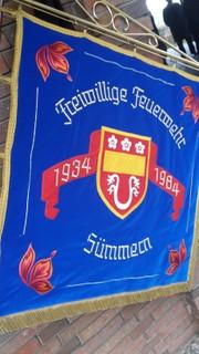 Feuerwehr Fahne 2