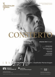 Konzertplakat Frühjahr 2019 - Bild (c) Westfalen Winds e.V.
