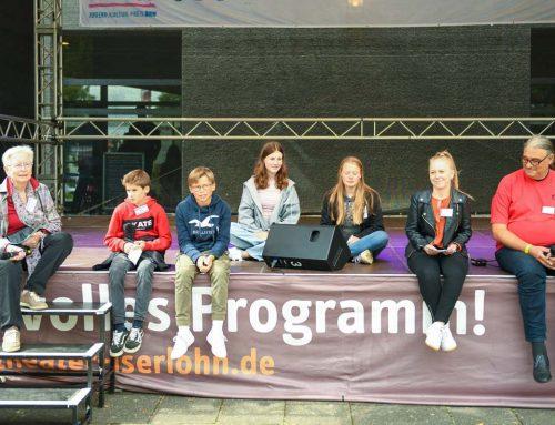 Das Bürgerradio Iserlohn hat am Festival Jugend Kultur NRW teilgenommen
